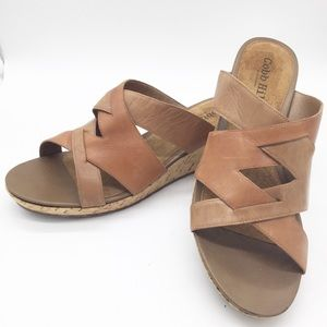 Cobb Hill Women's Sandals Leather Wedge Size 11